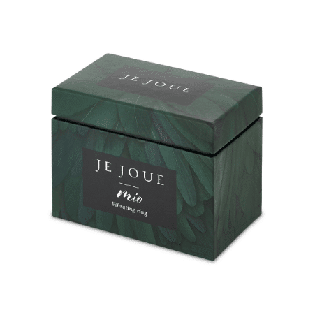 Green flowered storage box for Mio - Cock Ring by Je Joue