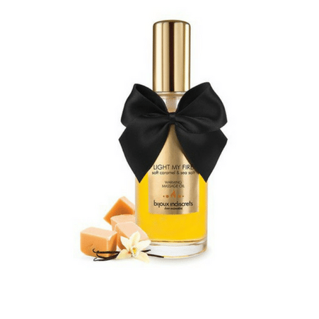 Caramel Warming Massage Oil