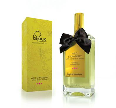 Bijoux Wild Strawberry Massage oil