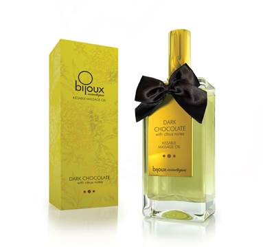 Bijoux Dark Chocolate Massage Oil
