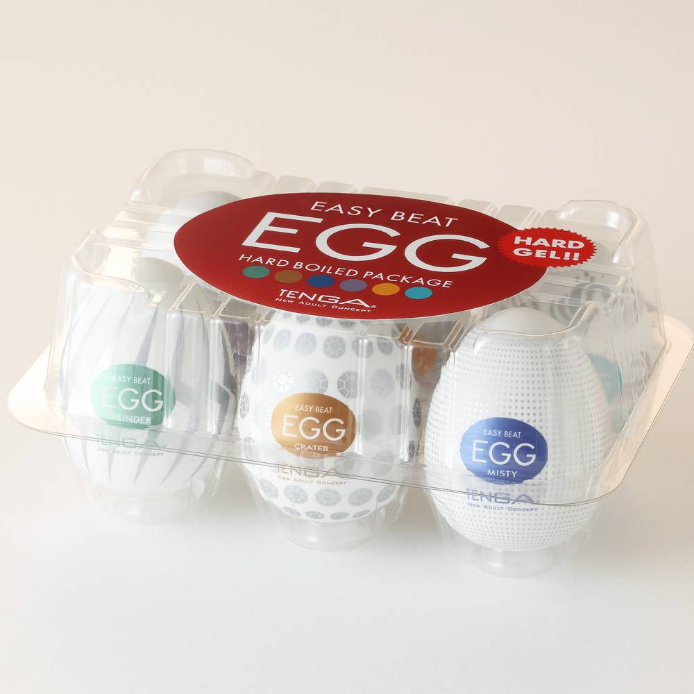 Tenga Egg Masturbator /Hard Boiled 6 pack