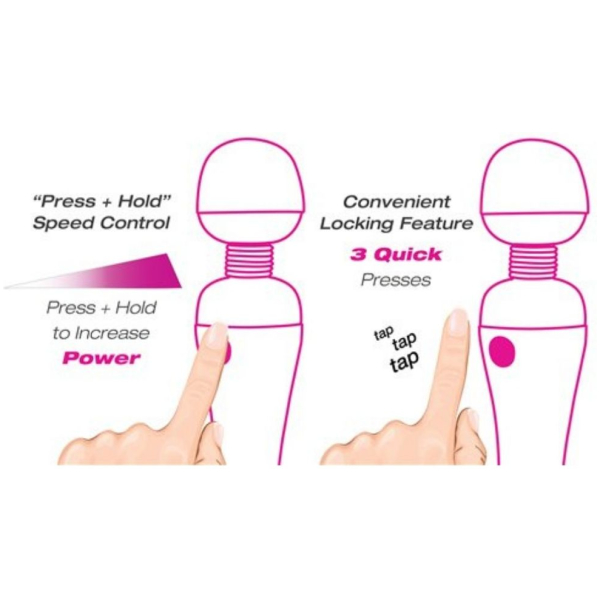 Palm Power Massager - Rechargeable Wand