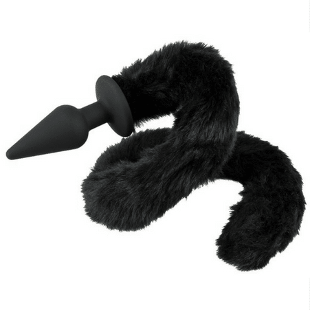 Butt Plug with faux fur tail