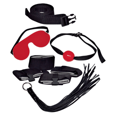 Bad Kitty Bondage Set (Black)