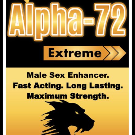 Alpha-72 - Male Sex Enhancer